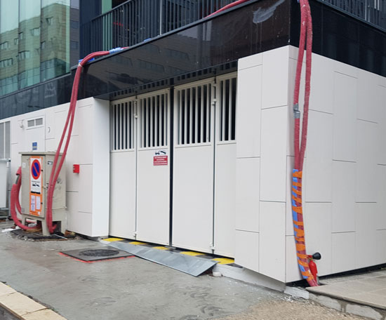 Installation de portes de parking automatiques lyon for Garage repar vite villeurbanne